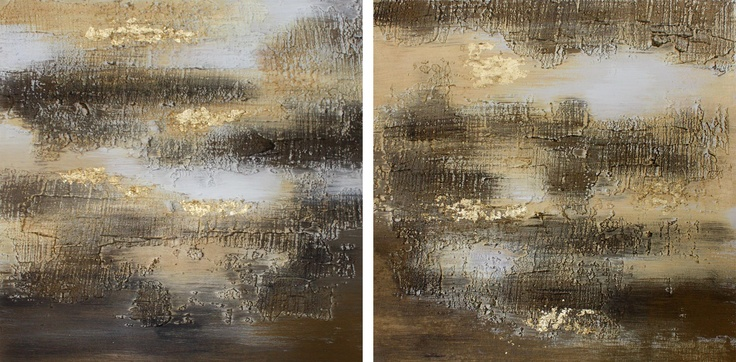 Gold and brown serie.  Stucco and acrylic on table wood. #paint #painting #art #abstract #gold