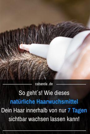 Möchtest du wissen wie dein Haar am schnellsten und besten wächst?Wenn du länger und stärkeres Haar in nur 7 Tagen haben möchtest, dann folge dem unterstehenden Rezept für eine wunderbare natürliche Haarkur