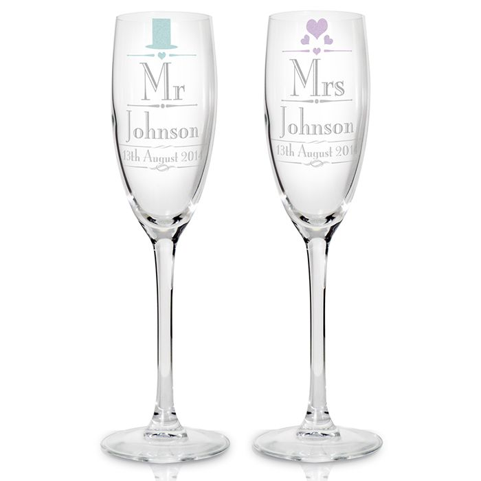 Mr Mrs Gl Flutes Angels Wedding Packages