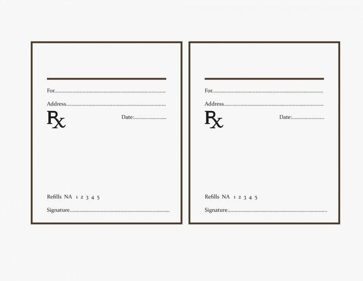 Fake Prescription Label Template Best Of Why You Must Experience Printable Label Templates Prescription Pad Printable Label Templates Fake prescription label template