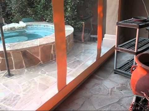 How 2 Install Southern Patio Enclosures Clear Vinyl Patio Enclosures Drop  Curtain System   YouTube