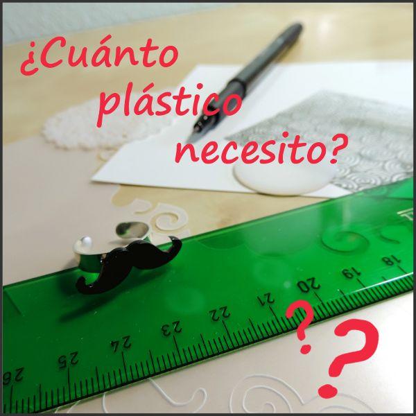Calcula cuánto plástico mágico necesitas