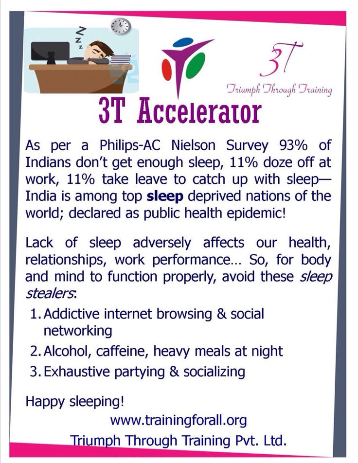 #3t_accelerator of today is on Sleep. #TriumphthroughTraining