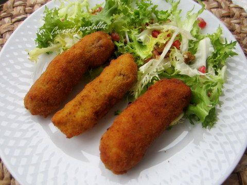 Cocinando para ellos : ROLLITOS DE CARNE PICADA CON QUESO