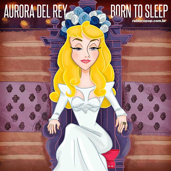 Artista mistura princesas da Disney e divas da música em ilustrações. Ilustração: Vic Matos/Rabisco Pop