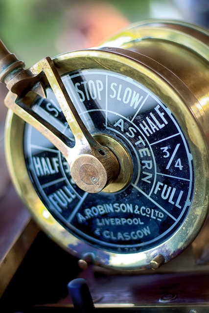 """""""Engine order telegraph"""" on the River Rouge Winnipeg by AJ Batac, via Flickr"""
