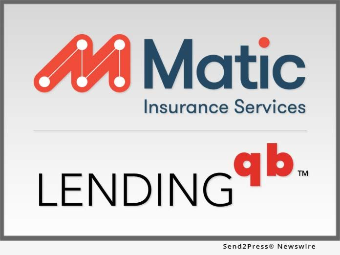 Matic Insurance Services And Lendingqb Partner To Eliminate Stress