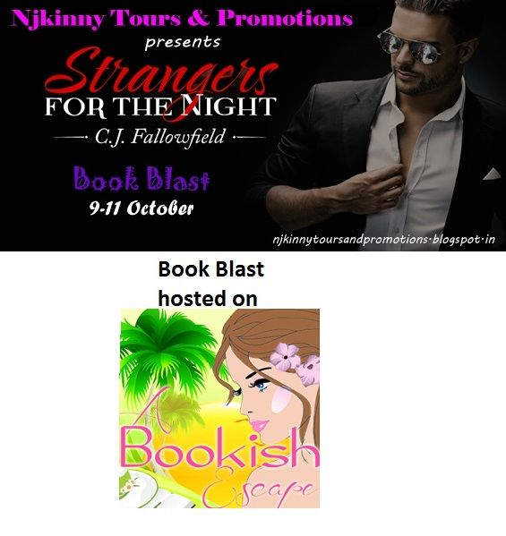 "#BookBlast + #Giveaway #StrangersForTheNight by @CJFallowfield on @lindytgomez's blog http://www.abookishescape.com/2014/10/book-blast-strangers-for-night-by-cj.html  Also Enter the #Giveaway to win $10 Amazon GC, 1 Ebk of ""The Austin Series #1""  #EroticRomance #AdultRomance #BlogTour"