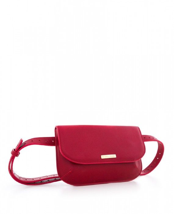 CN POUCH RED NAPPA