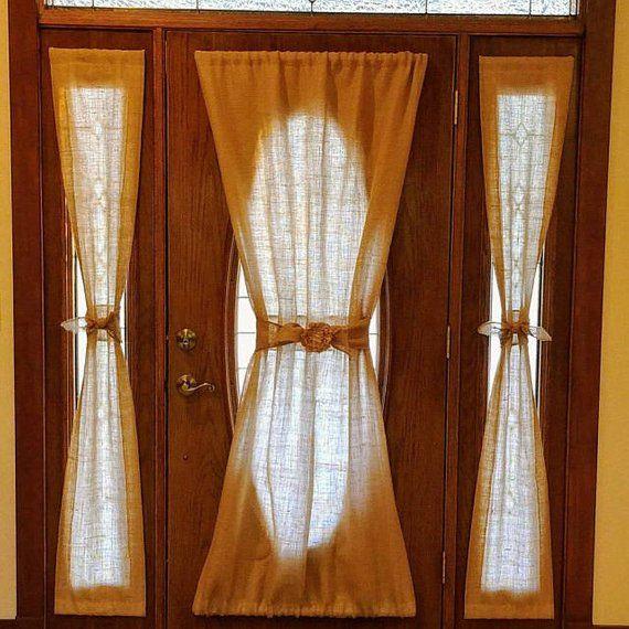 Door Sash Rods Set Of 2 For Sidelight Windows French Doors