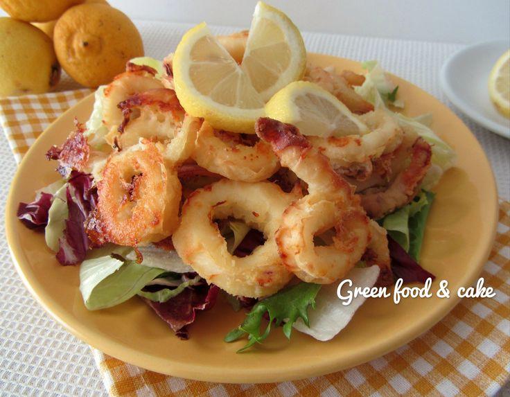 Fare la frittura di calamari senza friggere? Ora è possibile...finta frittura di calamari, buona e leggera!