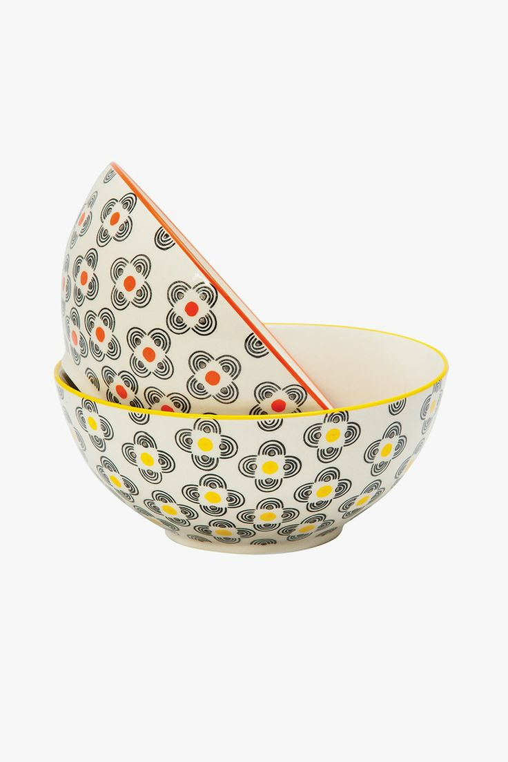 General Eclectic Dharma Bowl Set available at Superette #bowl #superettestore