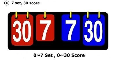 Scoreboard portable multi #sports #volleyball basketball table tennis #score set,  View more on the LINK: http://www.zeppy.io/product/gb/2/291855607530/
