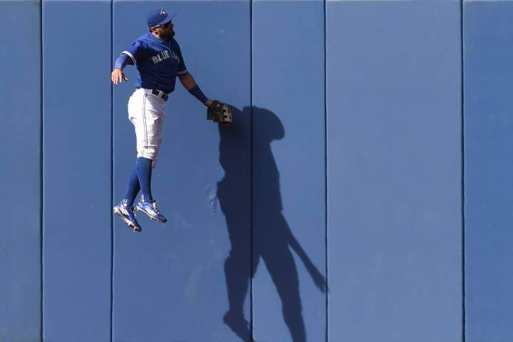 Toronto Blue Jays outfielder Kevin Pillar was named American League player of the week Monday after batting .524 with two homers and six RBIs over six games last week.