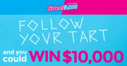SweeTARTS Candy - Win $10,000 Cash or Instant Win Prizes - http://sweepstakesden.com/sweetarts-candy-win-10000-cash-or-instant-win-prizes/