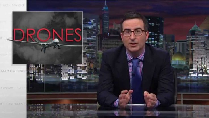 John Oliver Discusses the Use of Drone Strikes on 'Last Week Tonight'