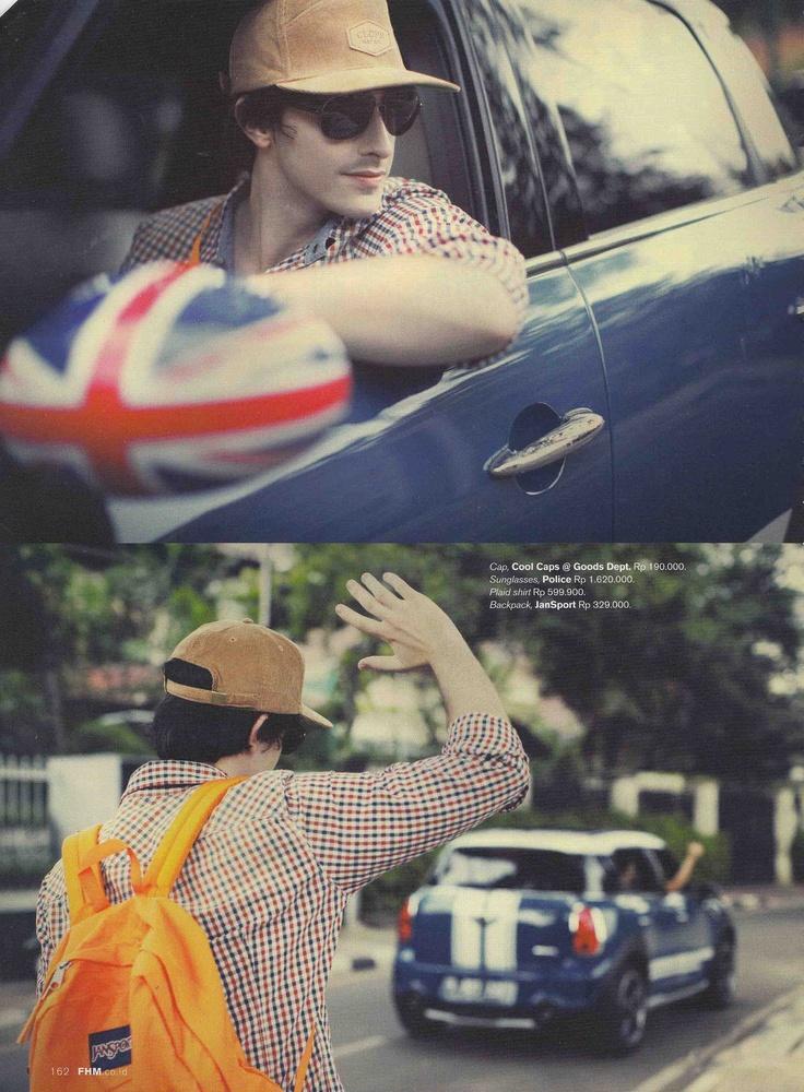 Sunglasses: Police    (Source: FHM Magazine)