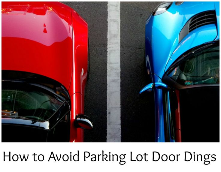 How to Avoid Parking Lot Door Dings Buy used cars, Used