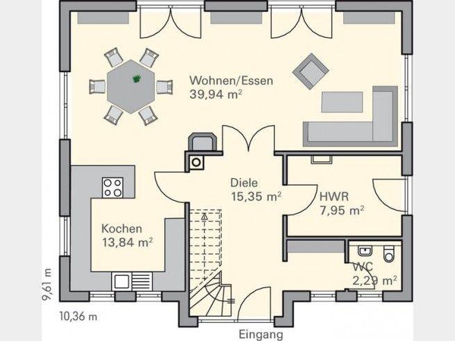 grundriss eg massivhaus brede grundriss f rs traumhaus floor plans pinterest. Black Bedroom Furniture Sets. Home Design Ideas