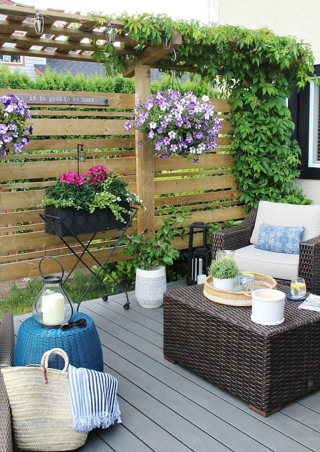 Outdoor Living Summer Patio Decorating Ideas Clean And