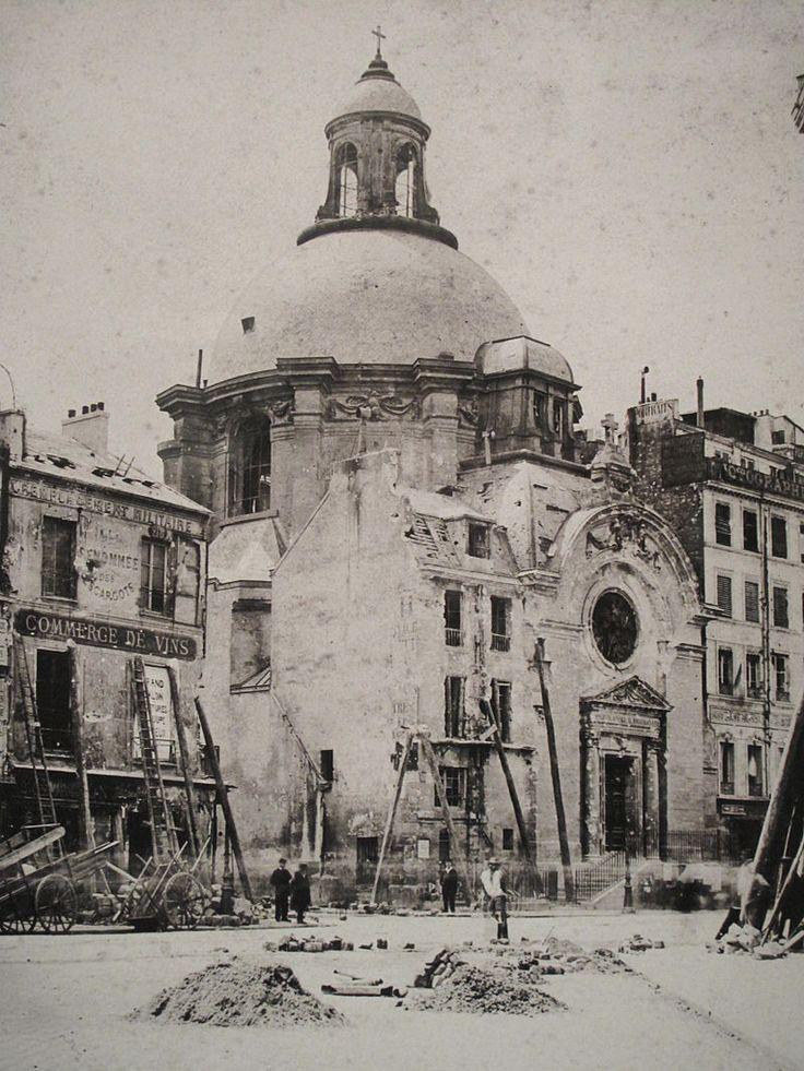 Paris Commune rue Saint-Antoine - Temple du Marais - Wikipedia