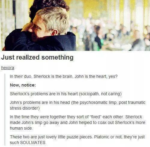 """This is beautiful. Also, I wholeheartedly believe there is such a thing as """"platonic soulmates""""."""
