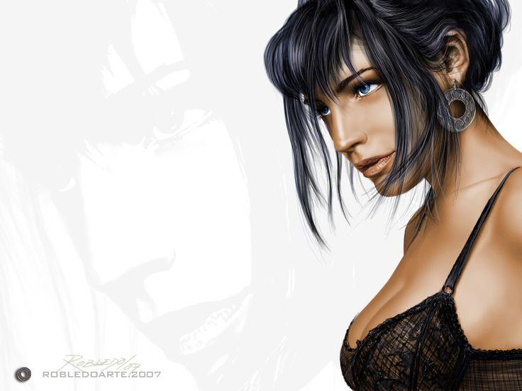 Ilustración digital. Photoshop, Wacom Intuos 3. #robledoarte yo.robeldoarte.com