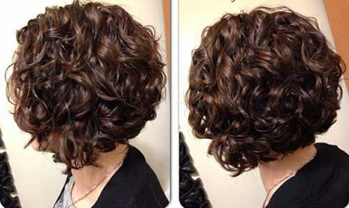 25  Short Curly Brown Hair                                                                                                                                                                                 More