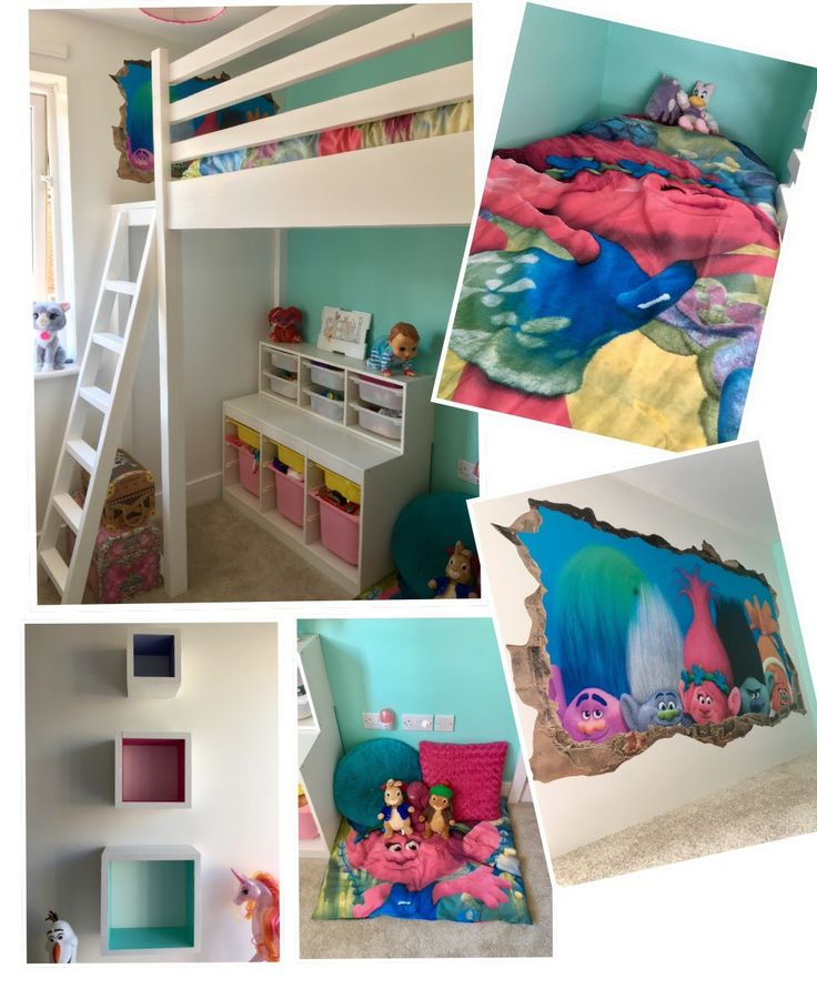 A huge thank you to our client for sharing this photo of her child's completed bedroom. We really enjoyed making this loft bed and simply love the way that our client has completed the room. The furnishings and decor have come together to create a wonderful space for a child and we are proud to have been a part of this transformational project!   If you are thinking of a new bed for your child's room, please get in touch with me with an idea of what you are looking for and I would be..