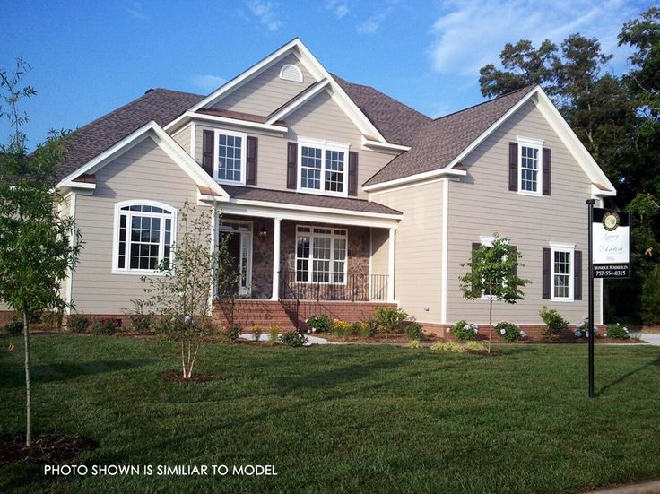 Ryland homes chesterfield model