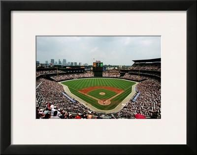 "Turner Field, Atlanta  23 x18""   $126.99   Framed Art Print by Ira Rosen at Art.com"