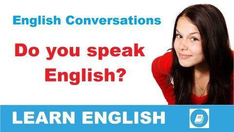 Do you speak English? - Angol párbeszéd