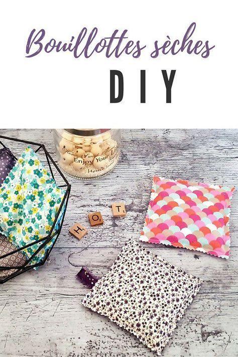 Bouillotte sèche DIY : Couture facile