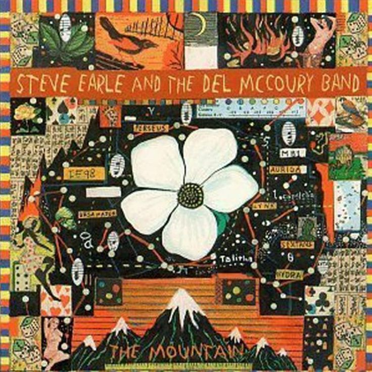 Steve Earle And The Del McCoury Band - The Mountain Vinyl 2LP September 29 2017 Pre-order