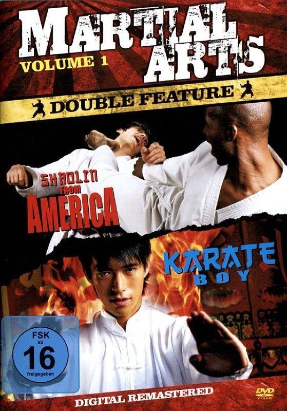 Martial Arts Vol 1 - Shaolin From America + Karate Boy  DVD/NEU/OVP