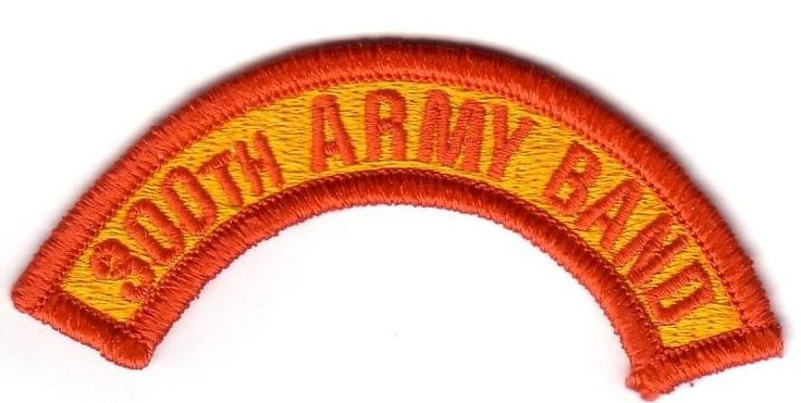 300th ARMY BAND (Fabrication Actuelle)