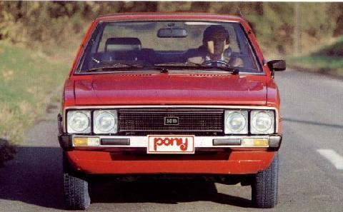 Hyundai Pony 1980