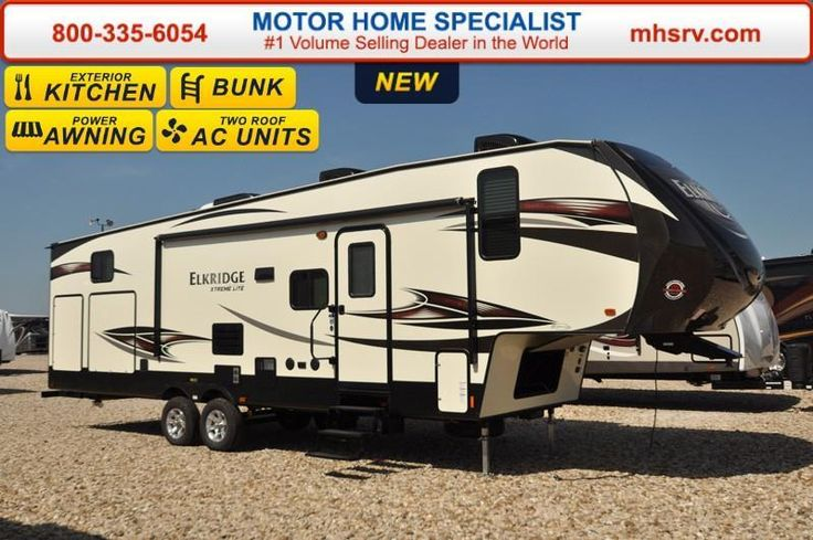 Check out this 2017 Heartland Rv ElkRidge Xtreme Light E30 Bunk Model RV For Sale At MHS listing in Alvarado, TX 76009 on RVtrader.com. It is a Fifth Wheel and is for sale at $29999.
