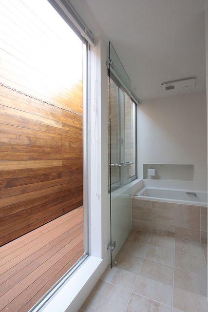 3Fバスルームと物干し空間