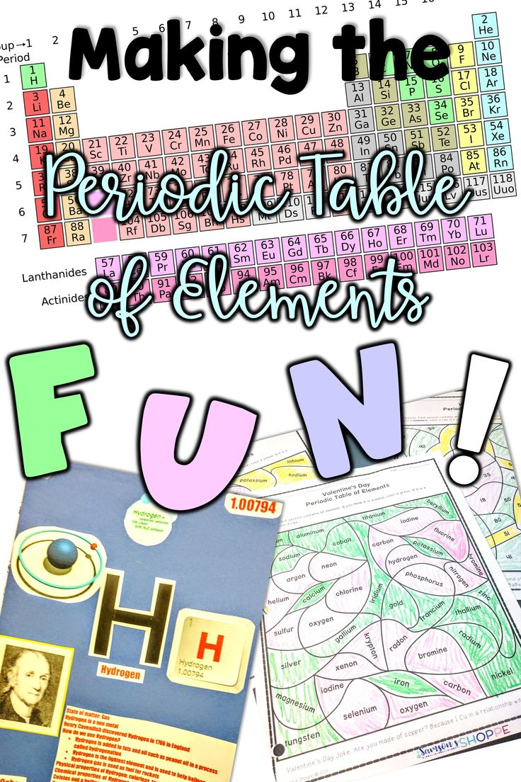 Periodic Table of Elements | Atoms | Do you need ideas, tips, strategies and activities to make your unit more exciting for your students? Learn how to teach this unit so that your kids will fall in love with this physical science unit.