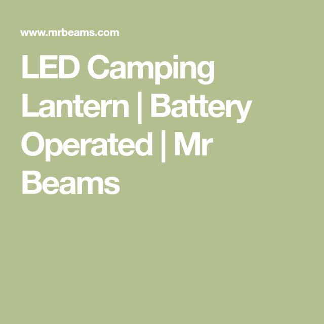 LED Camping Lantern   Battery Operated   Mr Beams