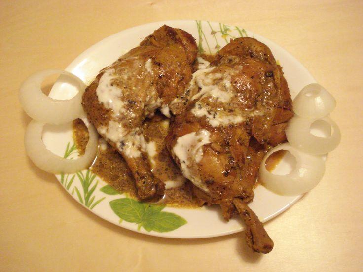 No-Masala Yogurt Chicken