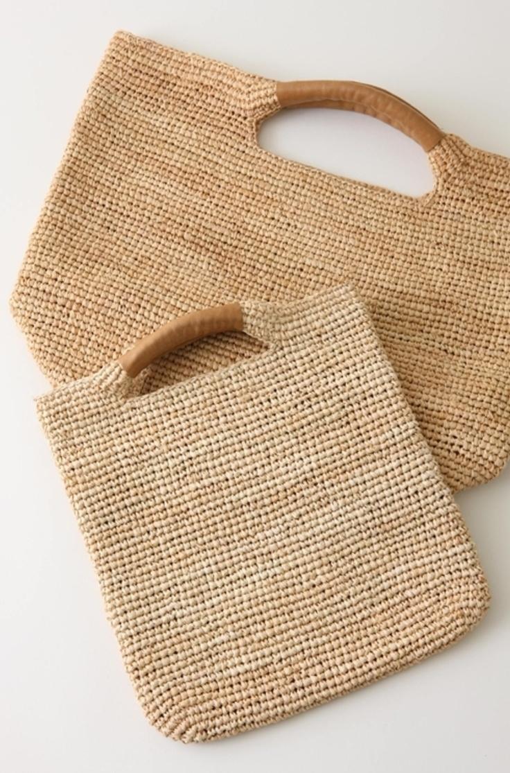 bonitos bolsos tejidos
