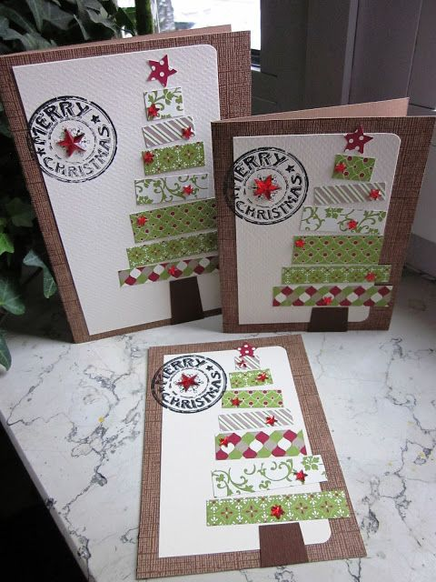 stampin with fanny: Merry Christmas ... im Patchwork-Stil