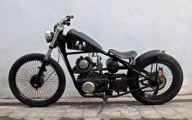 Photo Gallery | Island Motorcycles  Kawasaki Binter Chopper custom Bali