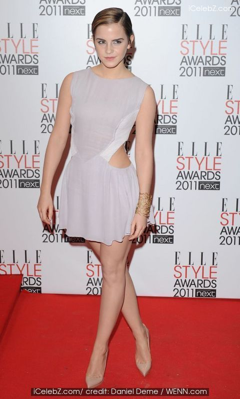 ELLE Style Awards 2011 held at the Grand Connaught Rooms - Arrivals Emma Watson photo