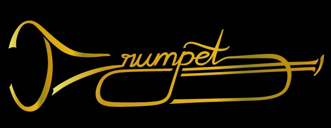 The #trumpet, new motive for musicians and jazz for t-shirts … #spreadshirt all: http://www.spreadshirt.com/user/mo-ment example: http://calligraphic.spreadshirt.com/gold-glitz-trumpet-m-A101087312/customize/color/2