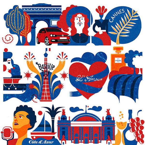 VW Europe illustrationsArt and design inspiration from around the world – CreativeRoots