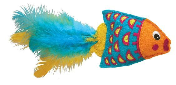 KONG Tropics Fish ** Additional details at the pin image, click it    Cat toys