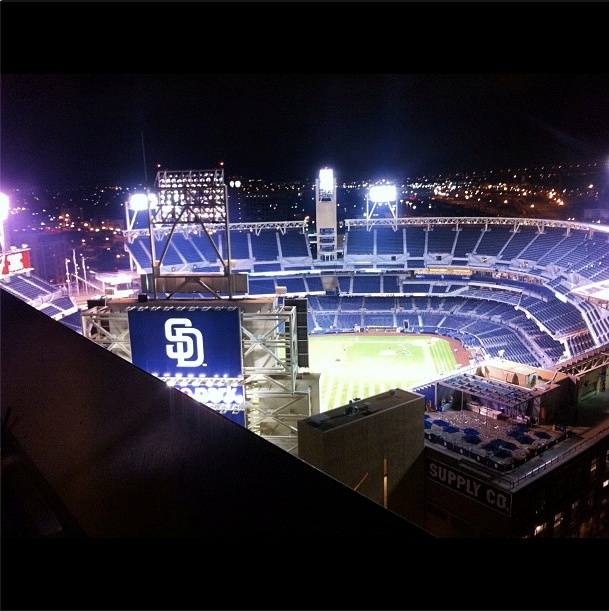 Nice shot of Petco! Photo credit goes to @ShreddieMurphy #sandiego #padres #petcopark